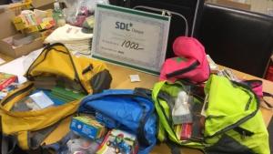 Donatie SDL voor Ekiko